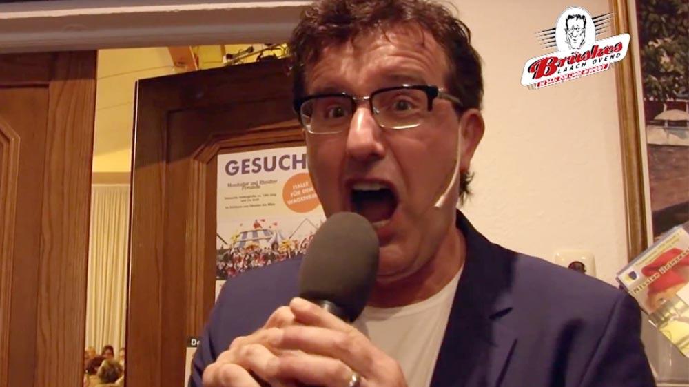 Kabarettist Christoph Brüskes Laach Ovend