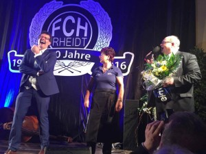 Kabarettist Brüske moderiert FC Hertha Rheidt Jubiläum