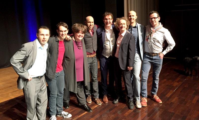 Christoph Brüske moderiert niederrheinischen Kabarettpreis schwarzes Schaf