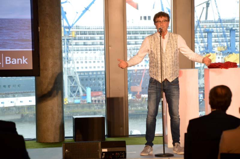 Brüske Kabarettist für Finanzbranche DSL Bank Hamburg