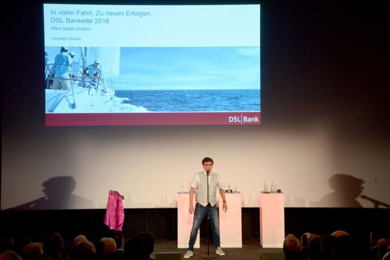 Kabarett Finanzbranche Christoph Brüske