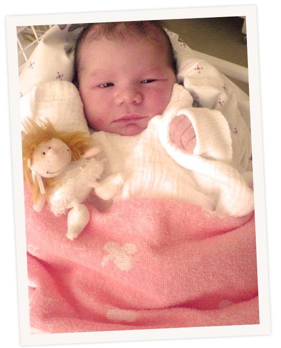 Brüske Geburt Tochter