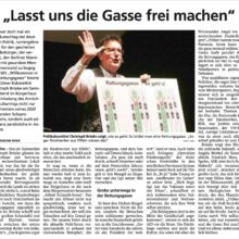 """Der """"Patriot"""" über """"Willkommen in der Rettungsgasse"""", Brüskes neues Solo"""