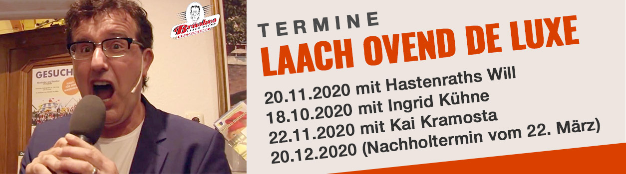 Laach Ovend DeLuxe Brüske Termine 2020
